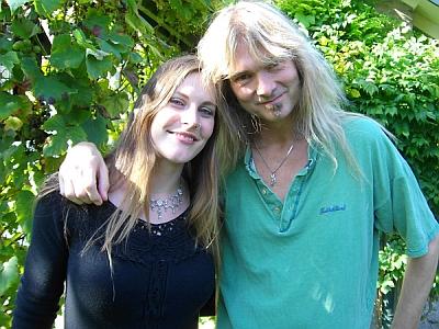 Floor Jansen with Arjen Lucassen