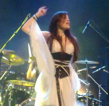 Sirenia live in Greece 2010